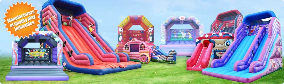 Manufacturers of quality play inflatables